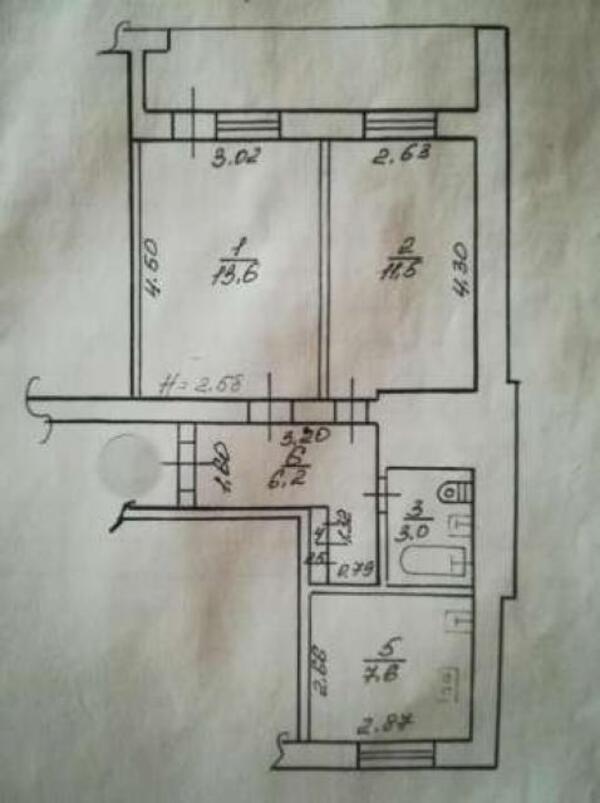 2 комнатная квартира, Харьков, Салтовка, Академика Павлова (472570 1)