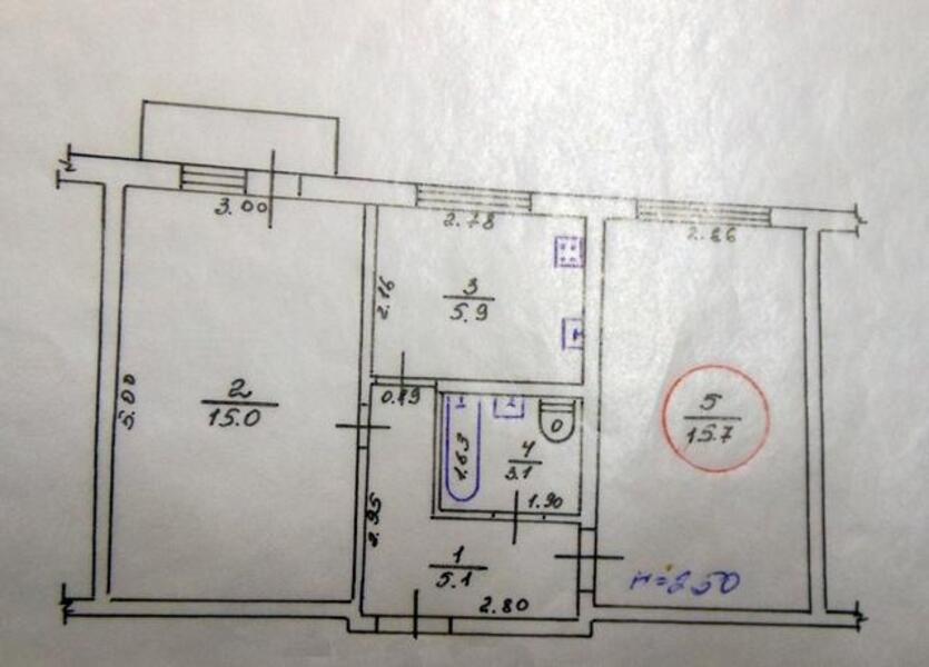 2 комнатная квартира, Харьков, ЦЕНТР, Кооперативная (Петровского) (472755 1)
