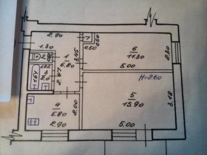 2 комнатная квартира, Харьков, ОДЕССКАЯ, Матросова (472996 1)