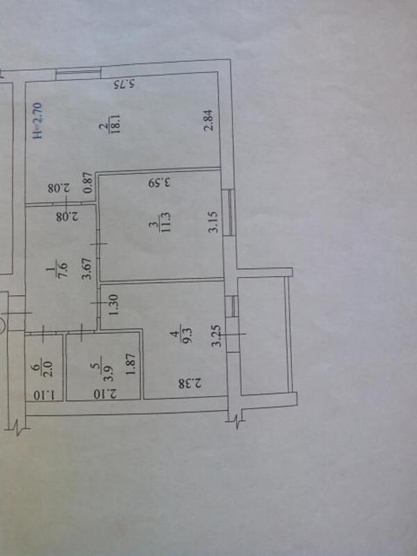2 комнатная квартира, Харьков, Салтовка, Амосова (Корчагинцев) (473089 1)