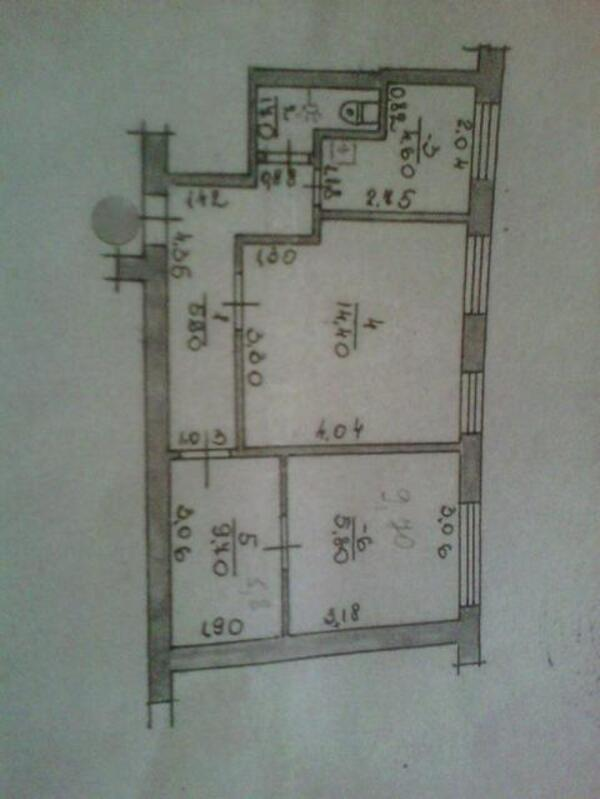 1 комнатная квартира, Селекционное, Овощеводов, Харьковская область (473298 2)