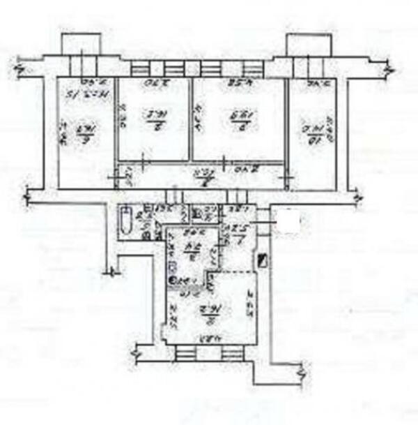 4 комнатная квартира, Харьков, Северная Салтовка, Родниковая (Красного милиционера, Кирова) (473540 1)