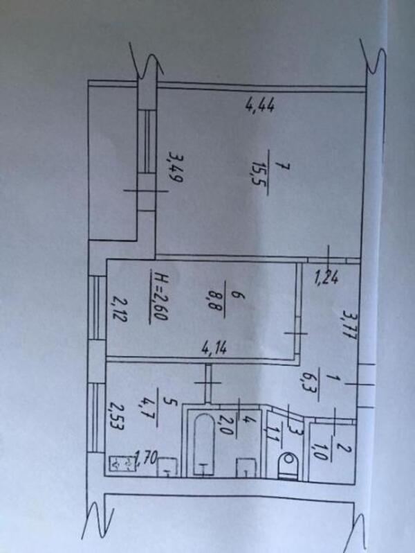 2 комнатная квартира, Харьков, ОДЕССКАЯ, Героев Сталинграда пр. (473563 1)