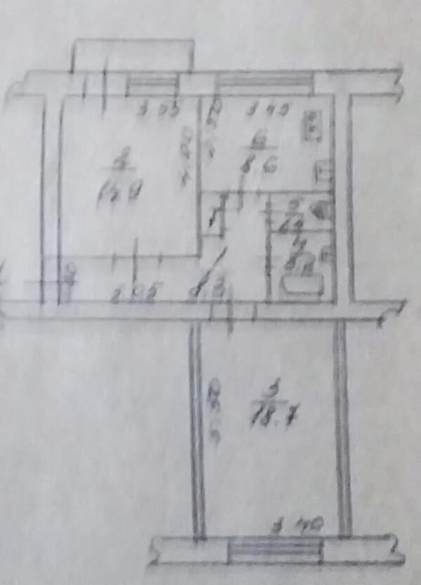 2 комнатная квартира, Харьков, Павлово Поле, Есенина (473641 1)