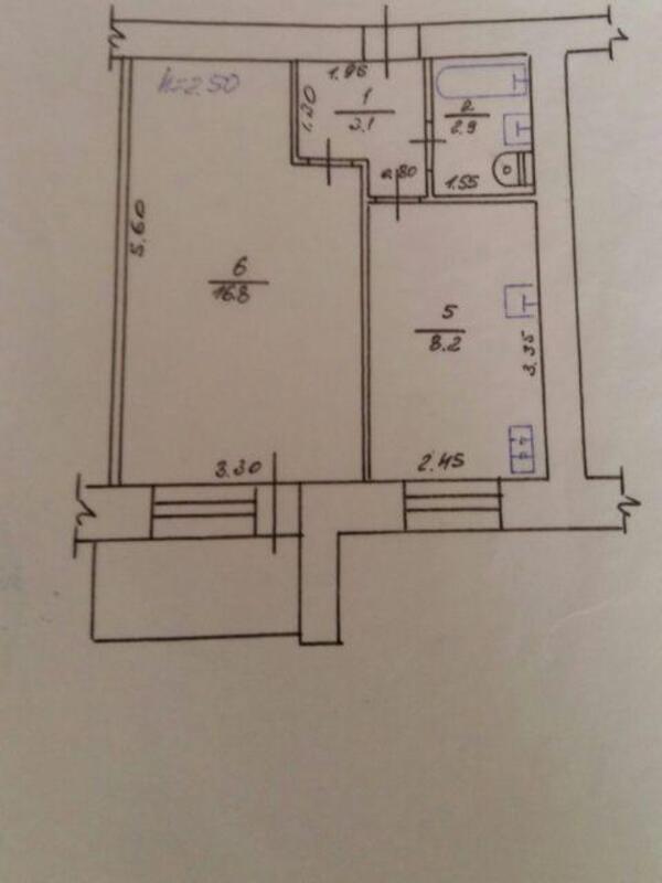 2 комнатная квартира, Харьков, ОДЕССКАЯ, Гагарина проспект (473648 1)
