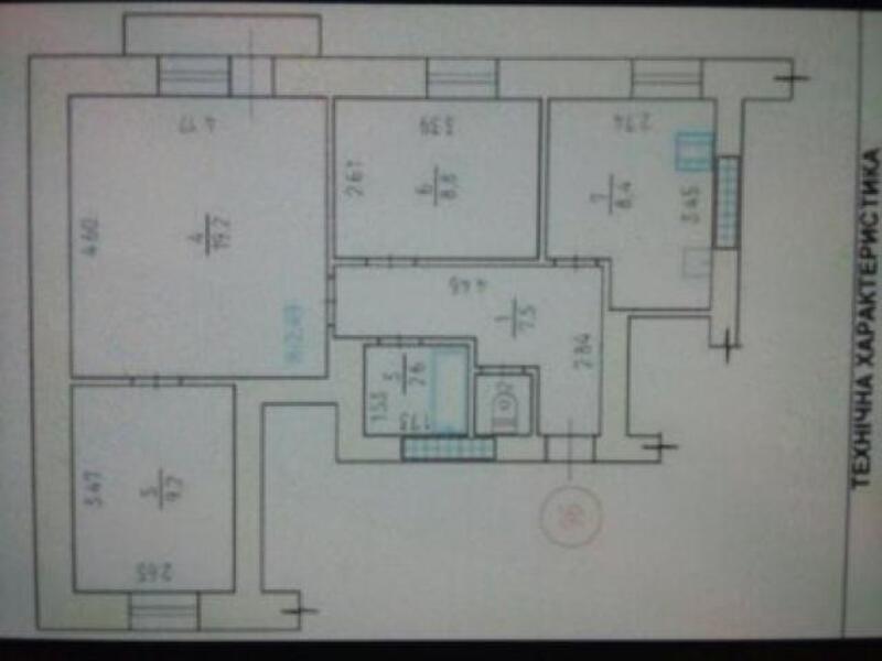 7 комнатная квартира, Харьков, НАГОРНЫЙ, Труфанова (473730 1)