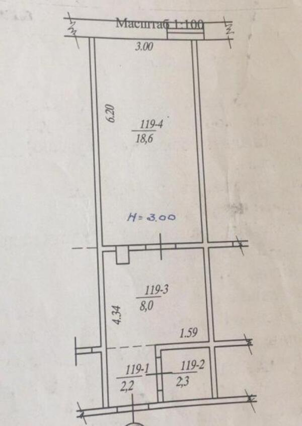 1 комнатная квартира, Харьков, Залютино, Золочевская (473747 1)