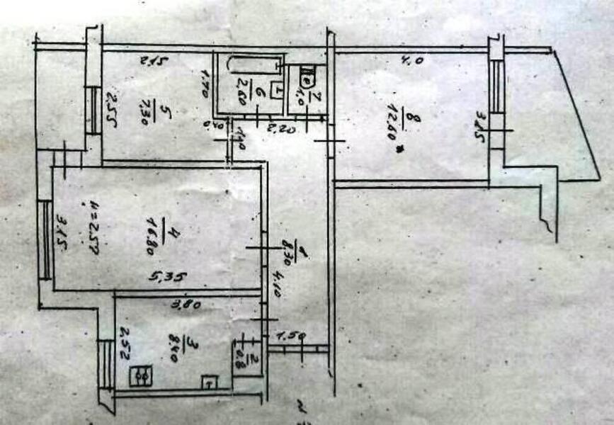 1 комнатная квартира, Харьков, Новые Дома, Маршала Рыбалко (473929 1)