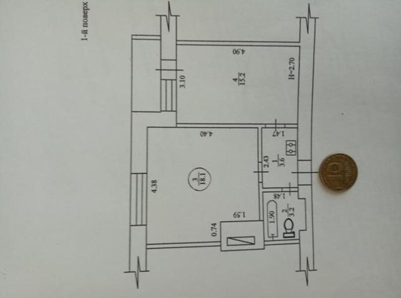 1 комнатная квартира, Харьков, ХТЗ, Индустриальный просп. (Фрунзе проспект) (474826 1)