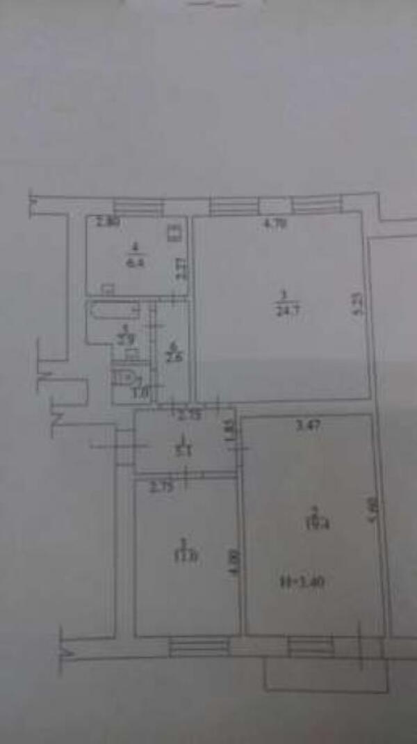 3 комнатная квартира, Харьков, Киевская метро, Матюшенко (474909 1)