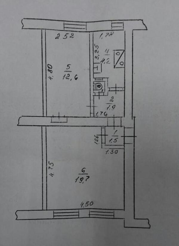 2 комнатная квартира, Харьков, Новые Дома, Ньютона (475700 1)