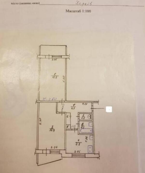 2 комнатная квартира, Харьков, Салтовка, Тракторостроителей просп. (477569 1)