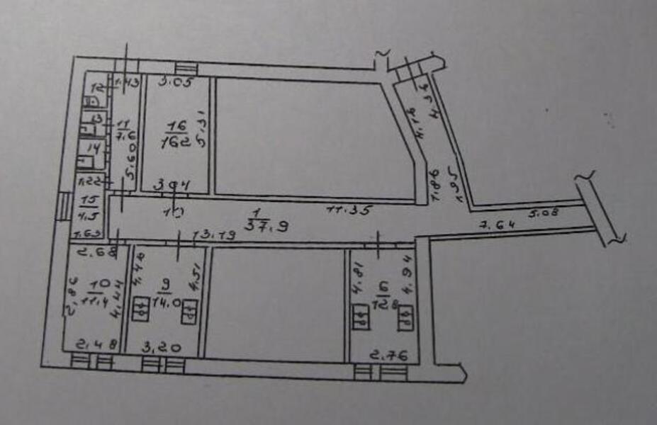 1 комнатная гостинка, Харьков, Холодная Гора, Петра Болбочана (Клапцова) (478197 1)