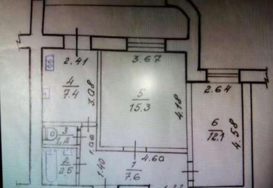 3 комнатная квартира, Харьков, Салтовка, Амосова (Корчагинцев) (479626 1)