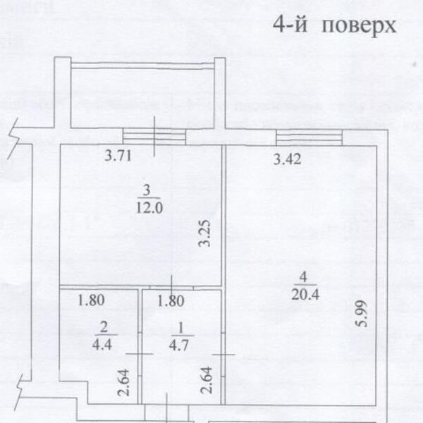 1 комнатная квартира, Харьков, Алексеевка, Победы пр. (479969 5)