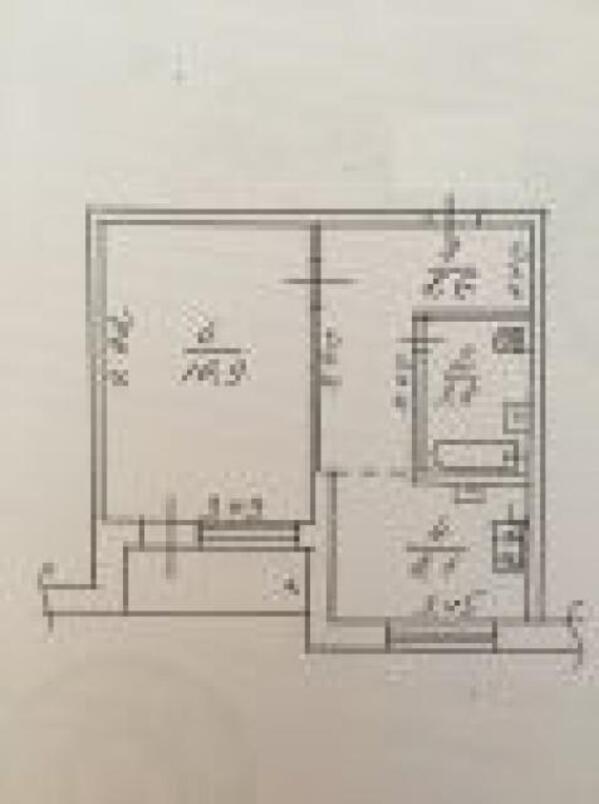3 комнатная квартира, Харьков, Аэропорт, Мерефянское шоссе (479995 1)