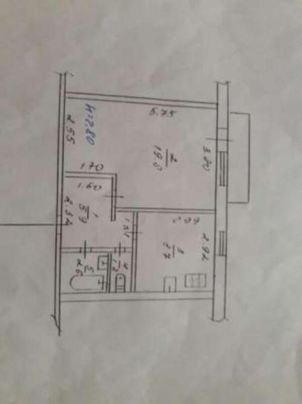 1 комнатная квартира, Харьков, Старая салтовка, Адыгейская (480130 1)