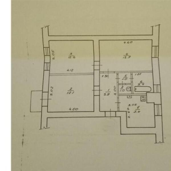 2 комнатная квартира, Харьков, Госпром, Юры Зойфера (Анри Барбюса) (480307 1)