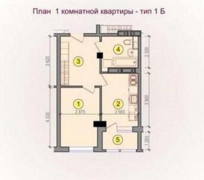 2 комнатная квартира, Харьков, Сосновая горка, Новгородская (480359 1)
