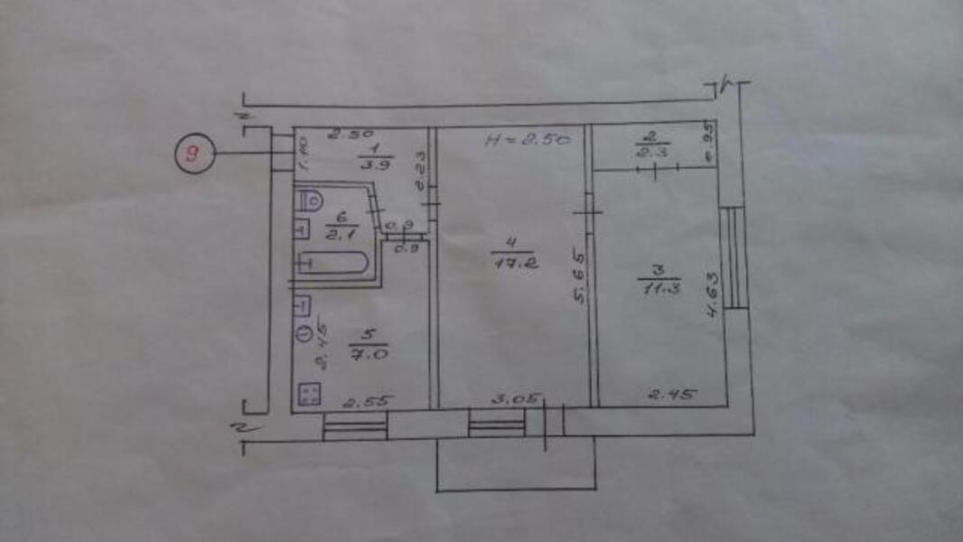4 комнатная квартира, Харьков, Салтовка, Тракторостроителей просп. (481009 1)