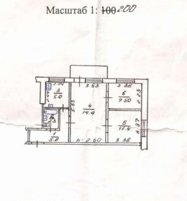 2 комнатная квартира, Харьков, ХТЗ, Франтишека Крала (481668 1)