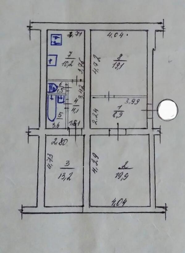 Купить 3-комнатная квартира, Харьков, ОДЕССКАЯ, Азербайджанская