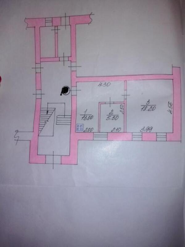 3 комнатная квартира, Глубокое, Юбилейная, Харьковская область (482381 1)