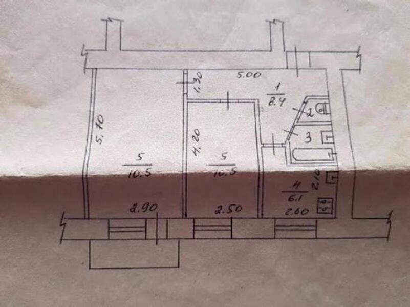 3 комнатная квартира, Харьков, ОДЕССКАЯ, Гагарина проспект (482484 1)