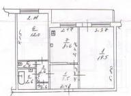 3 комнатная квартира, Харьков, Салтовка, Академика Павлова (482489 1)