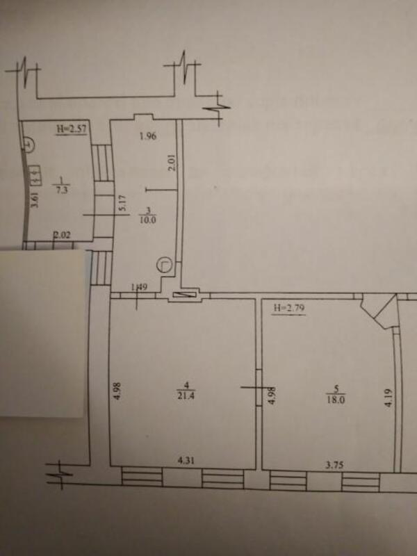 2 комнатная квартира, Харьков, МОСКАЛЁВКА, Валерьяновская (483101 1)