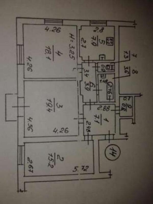 3 комнатная квартира, Харьков, Холодная Гора, Менделеева (483212 1)