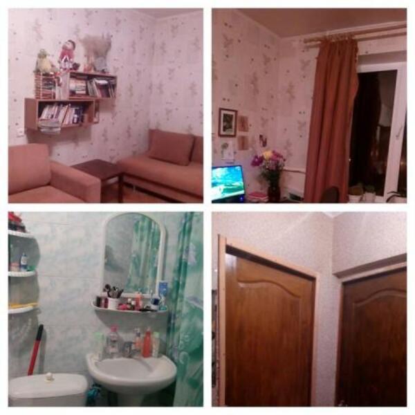 2 комнатная гостинка, Харьков, Рогань жилмассив, Роганская (483555 1)