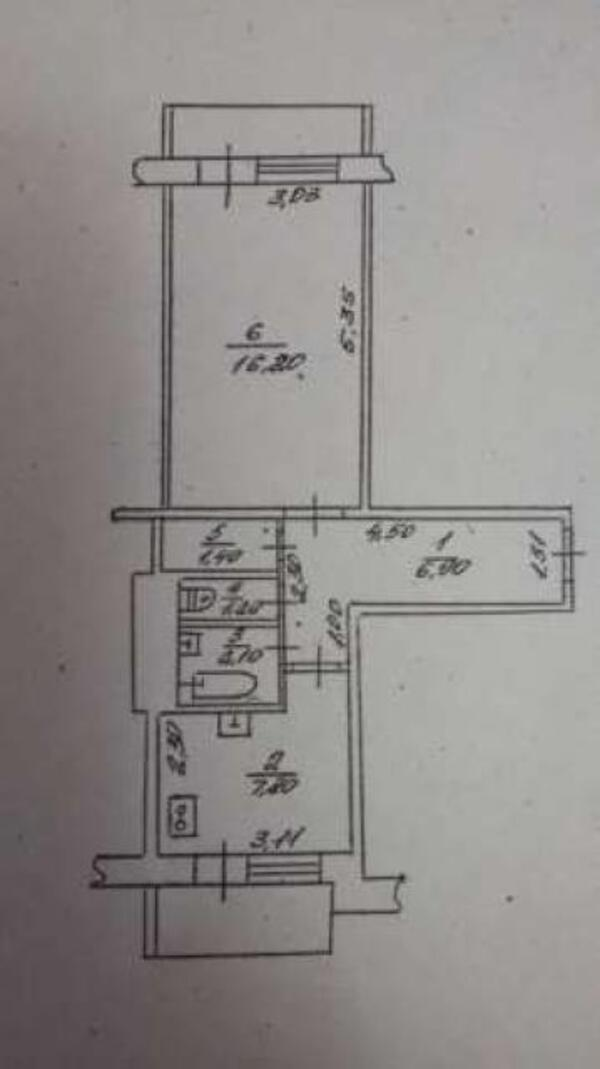 2 комнатная квартира, Харьков, Салтовка, Светлая (Воровского, Советская, Постышева, ленина. 50 лет Октября) (484474 1)