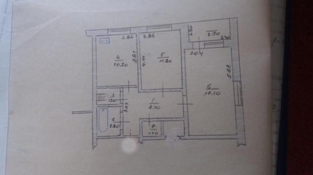3 комнатная квартира, Змиев, Харьковская область (484749 1)