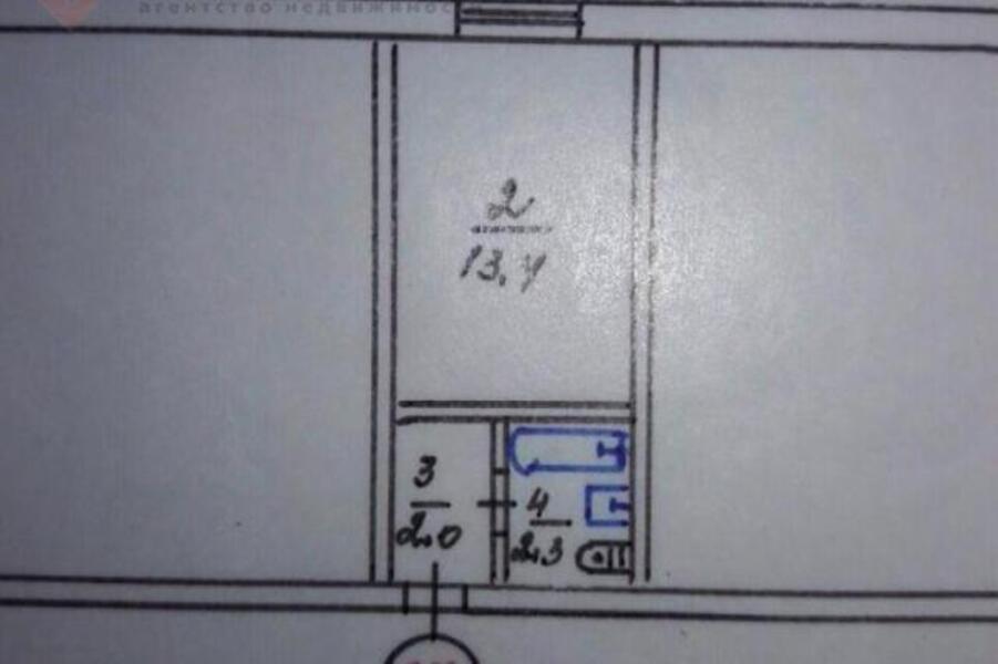 2 комнатная гостинка, Харьков, Рогань жилмассив, Роганская (484829 4)