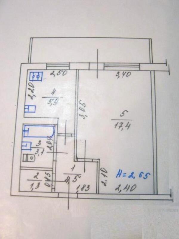 1 комнатная квартира, Харьков, Северная Салтовка, Леся Сердюка (Командарма Корка) (484860 1)