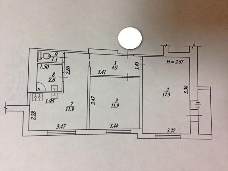 2 комнатная квартира, Харьков, Алексеевка, Людвига Свободы пр. (485541 1)