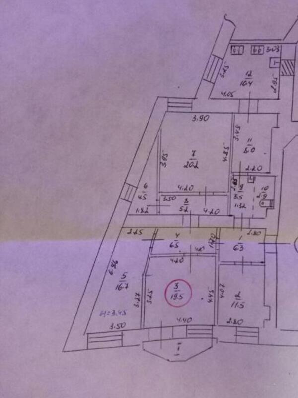 1 комнатная гостинка, Харьков, ЦЕНТР, Белобровский пер. (485948 1)