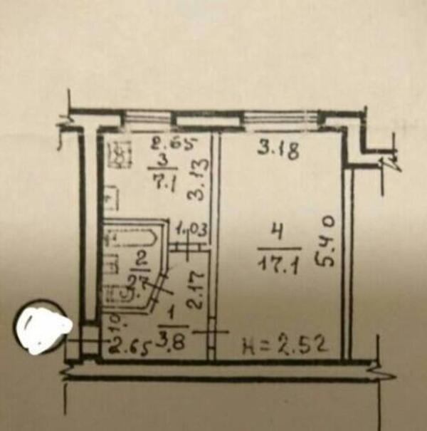 1 комнатная квартира, Харьков, ОСНОВА, Достоевского (487193 1)