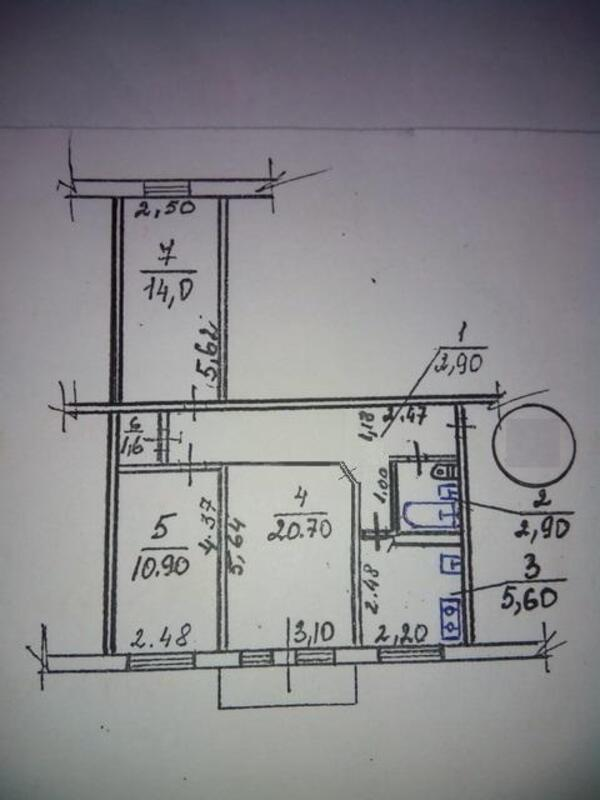 3 комнатная квартира, Харьков, Новые Дома, Героев Сталинграда пр. (487575 1)