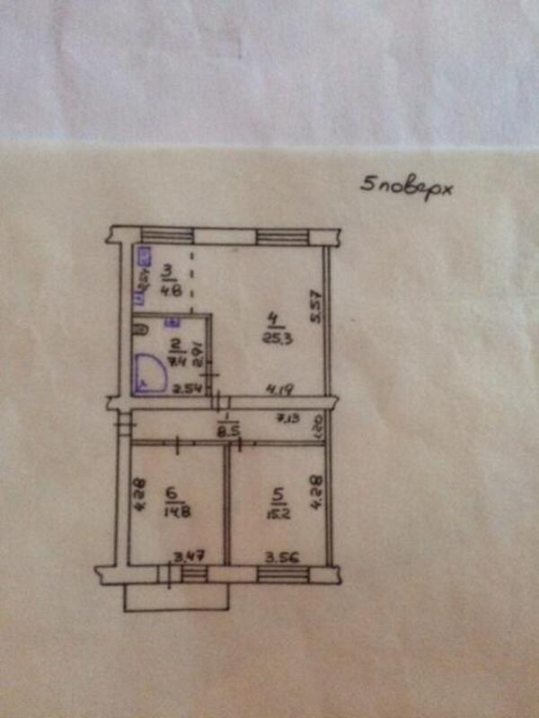 2 комнатная квартира, Харьков, ЦЕНТР, Рымарская (489610 1)