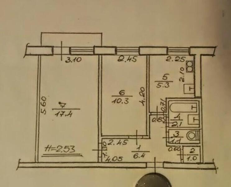 2 комнатная квартира, Харьков, Новые Дома, Героев Сталинграда пр. (490060 1)