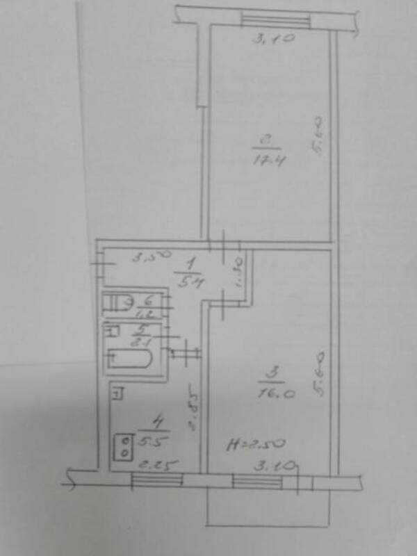2 комнатная квартира, Харьков, Салтовка, Салтовское шоссе (490142 1)
