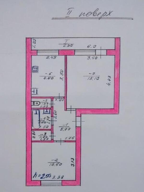 2 комнатная квартира, Буды, Пушкина, Харьковская область (490383 1)