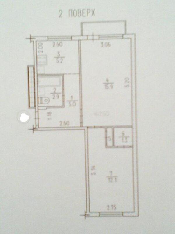 2 комнатная квартира, Харьков, Павлово Поле, Деревянко (490727 1)