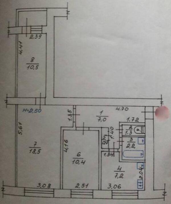 3 комнатная квартира, Харьков, Алексеевка, Людвига Свободы пр. (490943 2)
