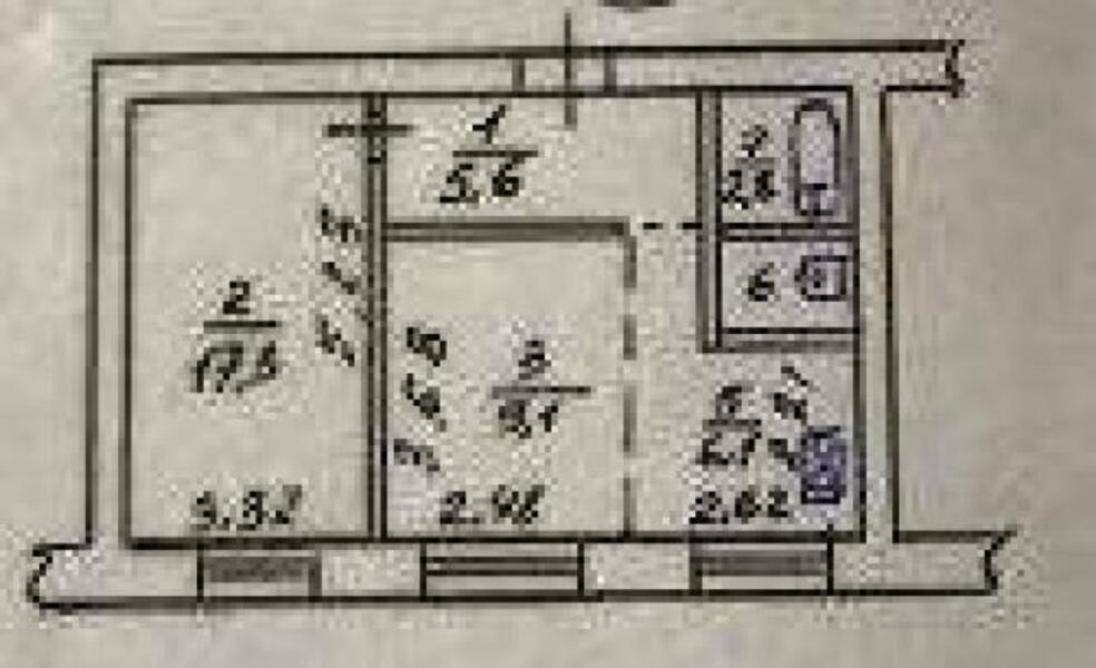 1 комнатная квартира, Харьков, Алексеевка, Победы пр. (491427 1)
