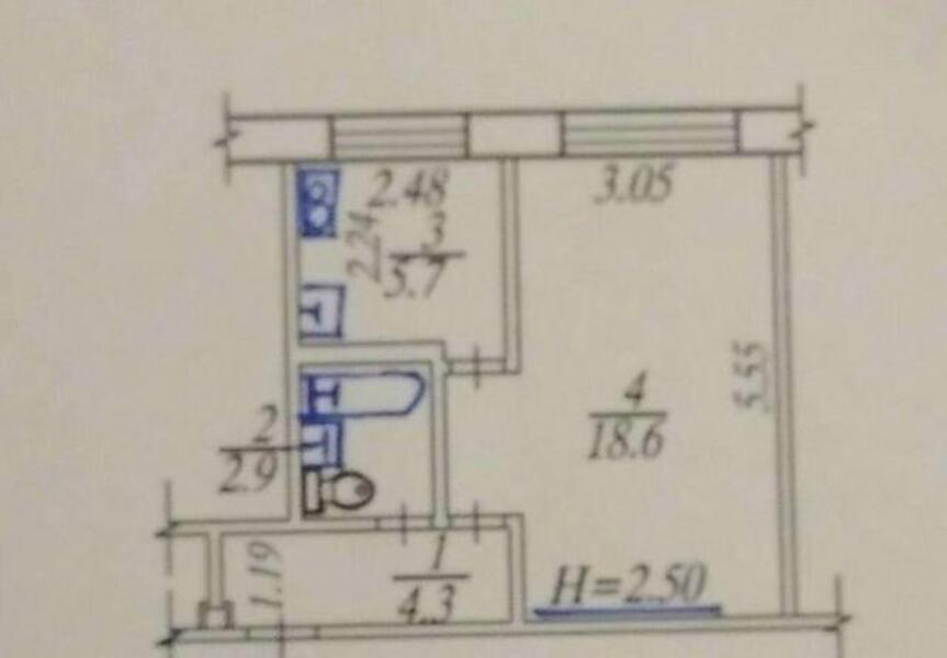 1 комнатная квартира, Харьков, Масельского метро, Свистуна Пантелеймона (492336 1)