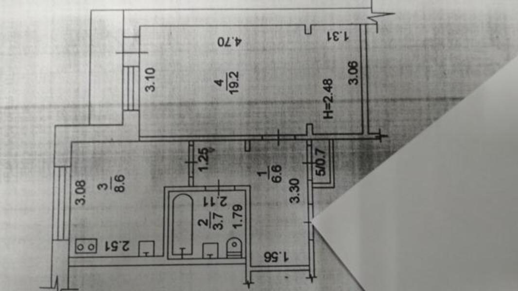 3 комнатная квартира, Харьков, Новые Дома, Льва Ландау пр. (50 лет СССР пр.) (493762 1)