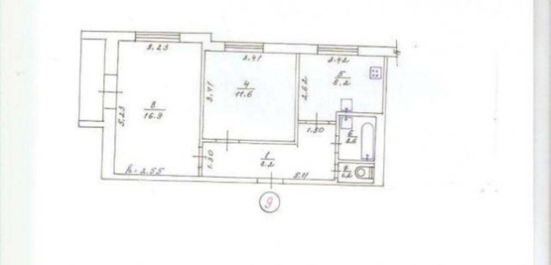 2 комнатная квартира, Харьков, Салтовка, Амосова (Корчагинцев) (493801 1)